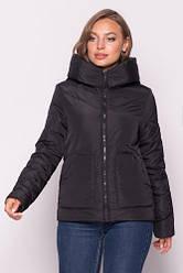 Модна жіноча куртка демісезонна укорочена розмір 42-52