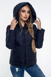 Осіння жіноча куртка з капюшоном від виробника розмір 42-52