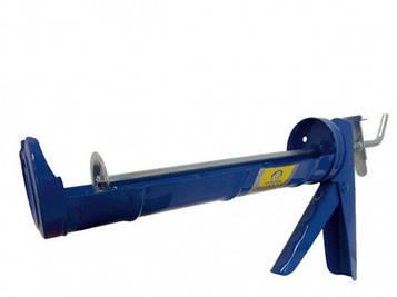 Пистолет 31101 для герметика лодочка Сталь