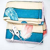 Электропростынь электро грелка электрическая простынь одеяло с сумкой electric blanket 140*180 см 140Вт UKC