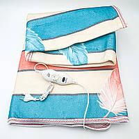 Электропростынь электро грелка электрическая простынь одеяло с сумкой electric blanket 120*150 см 90Вт UKC