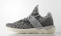 Кроссовки женские Adidas Tubular Runner Stone Grey серые