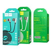 Кабель  USB /Micro USB HOCO U42 2.4A  Black (Box)