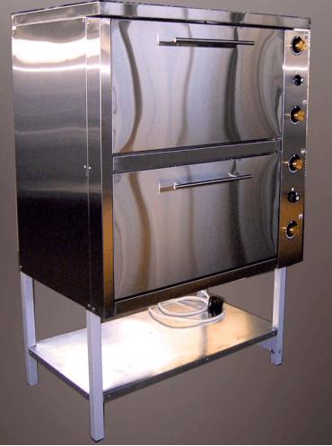 Шкаф жарочный электрический двухсекционный  с плавной регулировкой мощности ШЖЭ-2-GN2/1 эталон