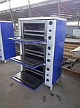 Шафа жарова електрична трисекційний ШЖЭ-3-GN2/1 стандарт, фото 2
