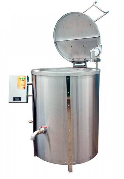 Котел пищеварочный електричний КПЕ-250 еталон