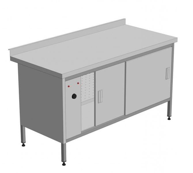 Стол тепловой - Статический 1800 х 700 х 850 (мм)