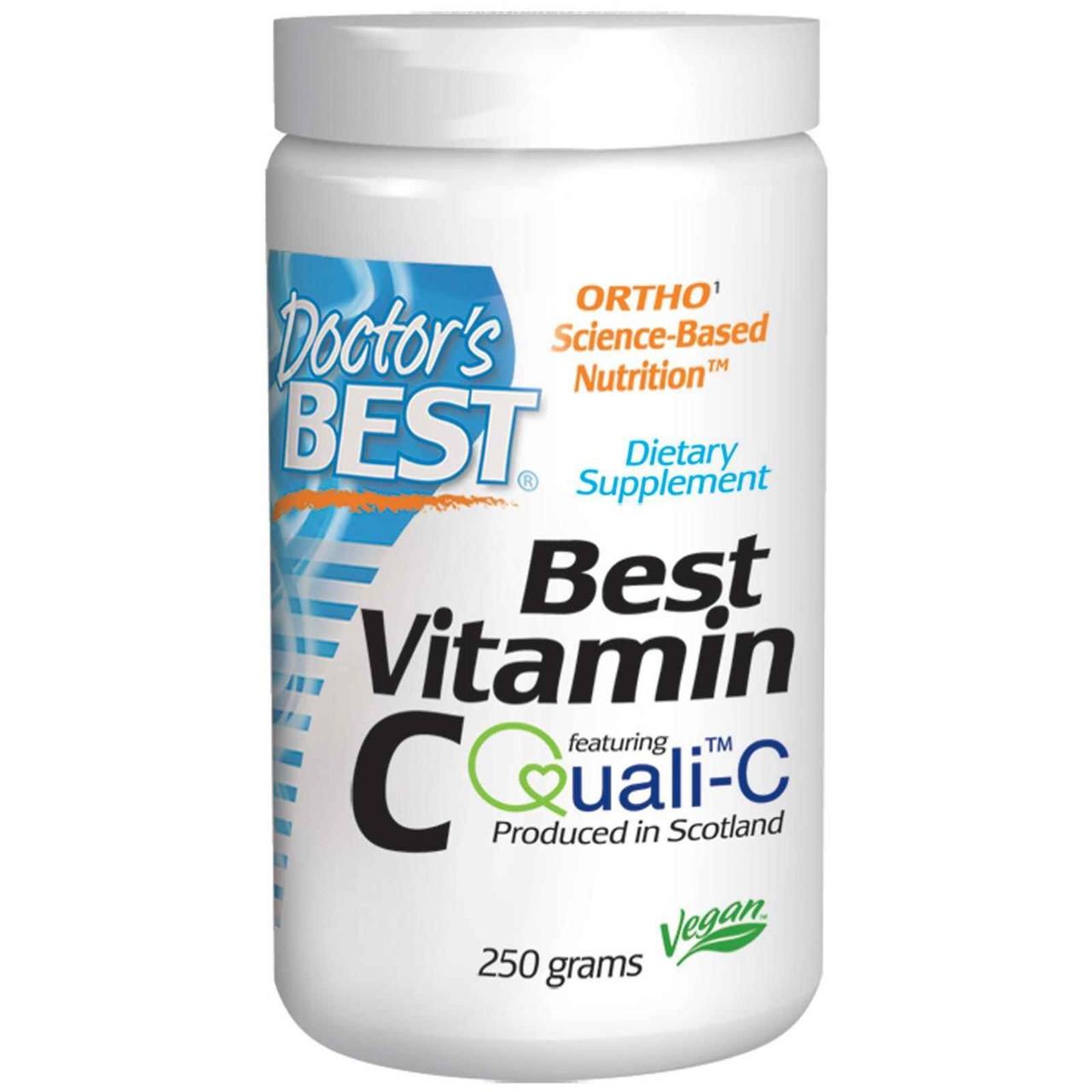 Витамин С, Doctor's Best, 250 г