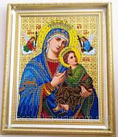 Схема для вышивки бисером Богородица неустанной помощи