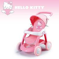 Оригинал. Коляска прогулочная для куклы Hello Kitty Smoby 510132