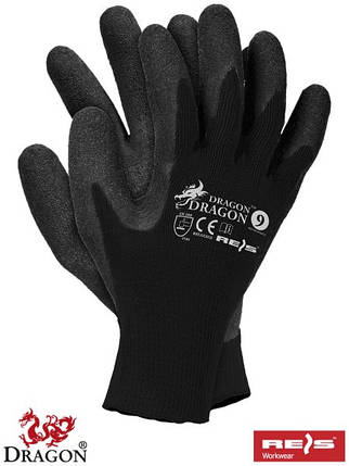 Защитные рукавицы изготовленные из трикотажа RDR BB, фото 2