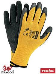 Захисні рукавиці виготовлені з трикотажу RDR BY