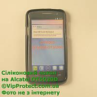 Alcatel 5020D, черный_силиконовый чехол, фото 1
