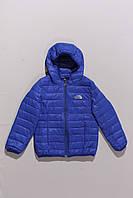 Куртка стеганная синяя (6-9 лет), фото 1