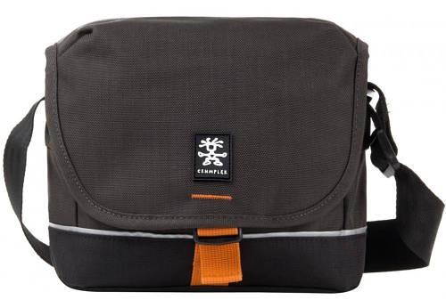 Удобная сумка для зеркального фотоаппарата CRUMPLER Proper Roady 2000 (grey black), PRY2000-003