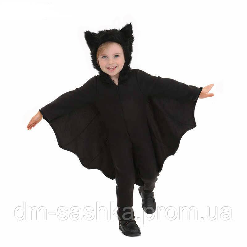 Карнавальный костюм Летучая Мышь для мальчика 110р.