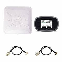"""Комплект """"Novatel MiFi 8800L + 4G/3G антенна RunBit  MIMO 2 x 16 дБ"""""""