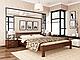 Кровать из дерева Рената ( из массива ), фото 7