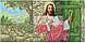 Схема для вышивки бисером Иисус стучится в дверь