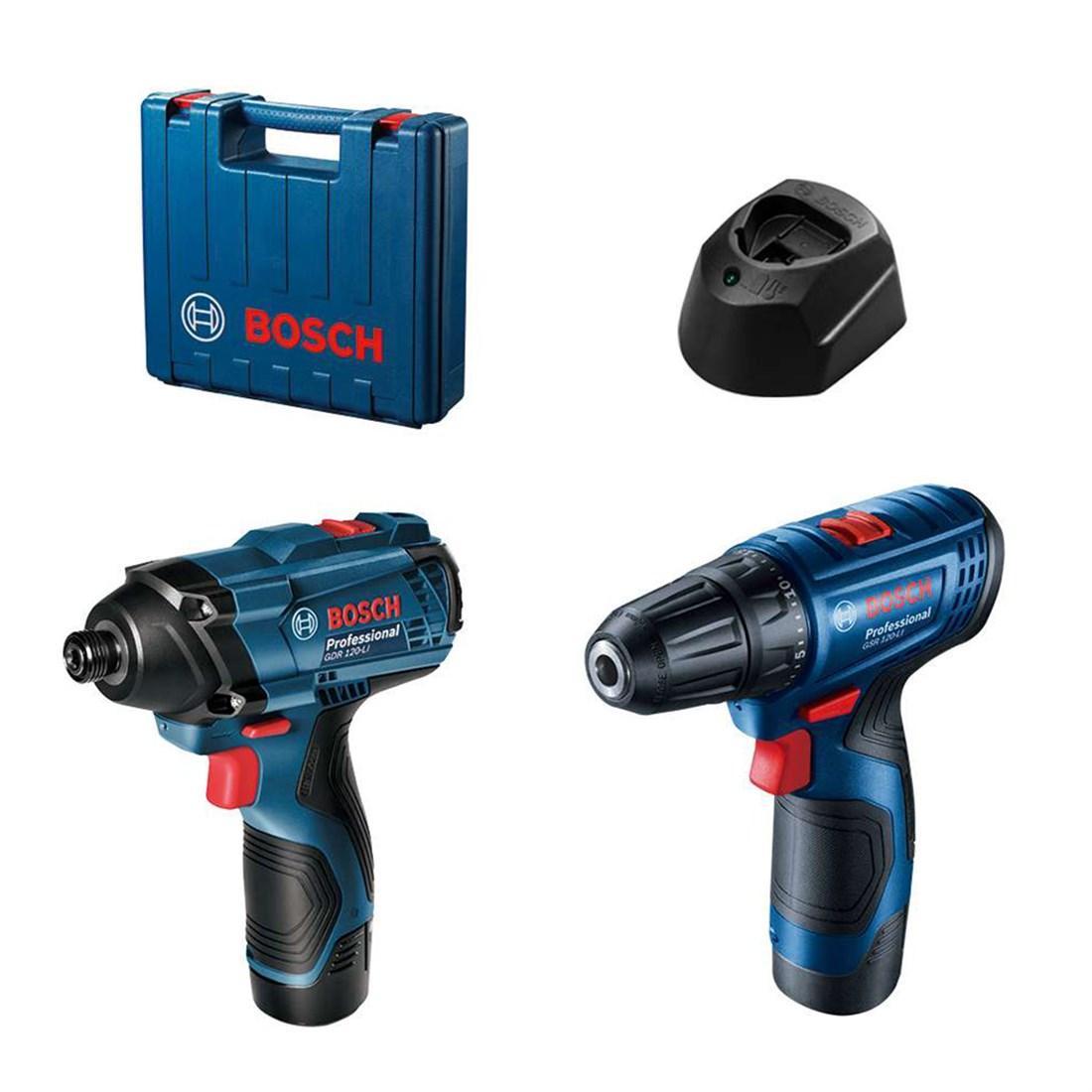 Набор инструмента BOSCH GSR 120-LI + GDR 120-LI