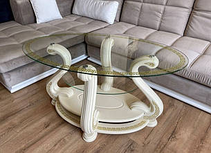 Стол журнальный стеклянный Милан МС-1 Антоник, цвет на выбор, фото 2