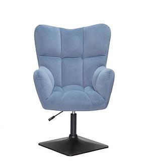 Офісне крісло OLIVER Б-Т СИНІЙ B - 1028 4-BK-BASE, фото 2