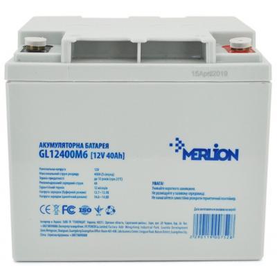 Батарея к ИБП Merlion 12V-40 Ah GEL (GL12400M6 GEL) ©