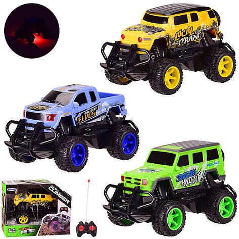 Машина батар. р   к JKL-309 310 311 (96шт   2) 3 види, світло, у кор. 17.5 * 11 * 14 см, р-р іграшки - 15 * 9 * 8.5, фото 2