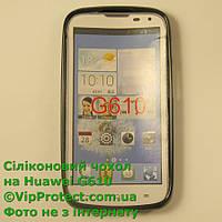 Huawei G610, черный_силиконовый чехол, фото 1