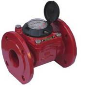 Счетчик горячей воды MWN130 DN40 Powogaz турбинный фланцевый