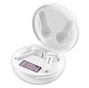 Бездротові навушники вкладиші TWS нирки золото Pro Сенсорна Bluetooth гарнітура з мікрофоном для телефону, фото 3