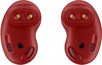 Беспроводные наушники Samsung galaxy buds Live вкладыши Bluetooth гарнитура для телефона iphone, android red, фото 3