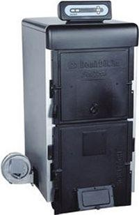 Чугунный твердотопливный котел Demrad (Qvadra 4F) Solitech Plus 4F 33 кВт (4 секции, турбовентилятор + эл. упр