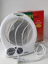 Тепловентилятор електричний Kitchin plus KP601 - обігрівач 2000Вт