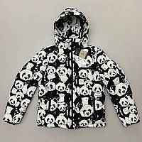 Куртка чоловіча зимова принт панда