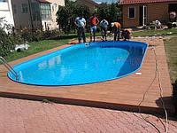 Будівництво збірних басейнів