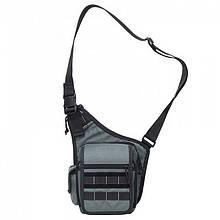 Плечова сумка для зброї DANAPER Delta (350х250х130мм), сіра
