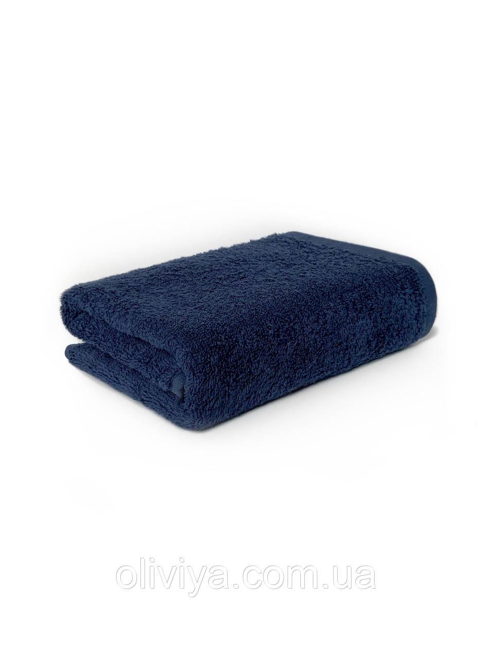 Рушник для рук 40х70 темно-синій