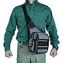 Плечова сумка для зброї DANAPER Delta (350х250х130мм), сіра, фото 4