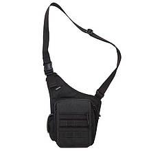 Плечова сумка для зброї DANAPER Delta (350х250х130мм), чорна
