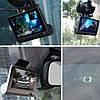 Автомобільний відеореєстратор з 3 камерами і 4-дюймовим екраном зі зйомкою салону + Відео парковка, фото 7