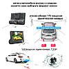 Автомобільний відеореєстратор з 3 камерами і 4-дюймовим екраном зі зйомкою салону + Відео парковка, фото 8