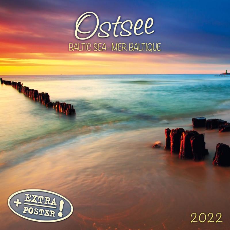 Настінний календар 2022 рік. Baltic Sea/Ostsee 2022.