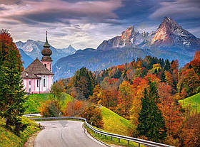Пазли Castorland 2000 ел. Осінь в Баварських Альпах, Німеччина