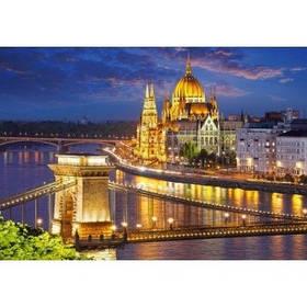 Пазли Castorland 2000 ел. Панорама Будапешта в сутінках