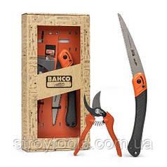 Набір ручного садового інструменту Bahco GIFTPACK396-HP