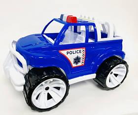 """Игрушка детская """"Внедорожник классический большой полиция» арт 337"""