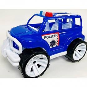 """Игрушка детская """"Внедорожник классический малый арт.327 полиция Бамсик"""
