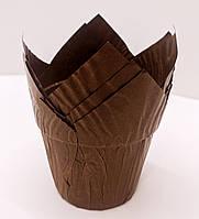 """Бумажная форма для кекса """"Тюльпан"""""""