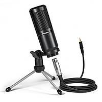 Студійний конденсаторний мікрофон Maono AU-PM360TR (Чорний), фото 1